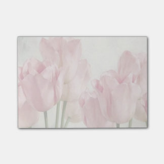 Pink Tulips Post-it Notes