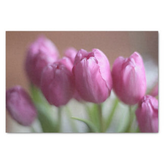 Pink Tulips Tissue Paper