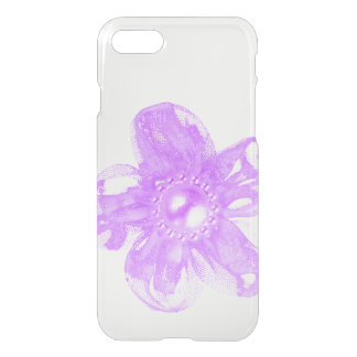 Pink tulle flower iPhone 8/7 case