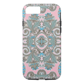 (pink & turqoise lace) iPhone 8/7 case