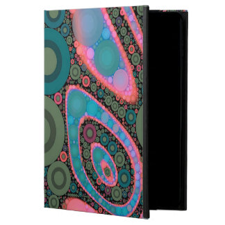 Pink Turquoise Green Trippy Abstract Powis iPad Air 2 Case