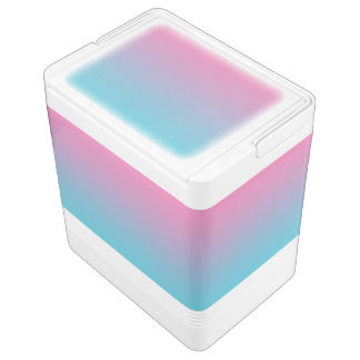 Pink & Turquoise Ombre Cooler
