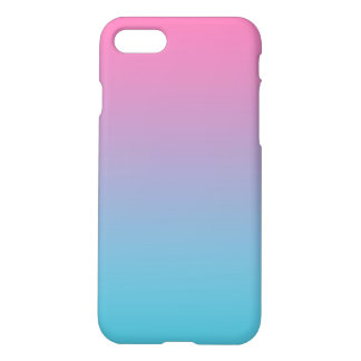 Pink & Turquoise Ombre iPhone 8/7 Case