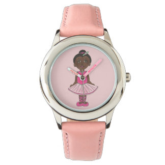 Pink Tutu Ballet Little Ballerina Dance Gift Watch