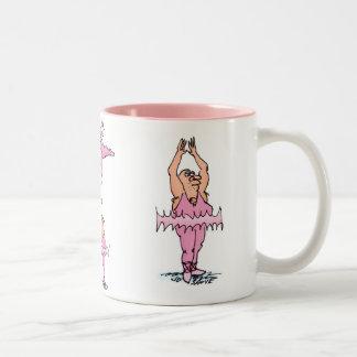 Pink Tutu Guys Ballet Mug