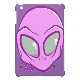 Pink UFO Martian Alien Cute Space iPad Mini Cases