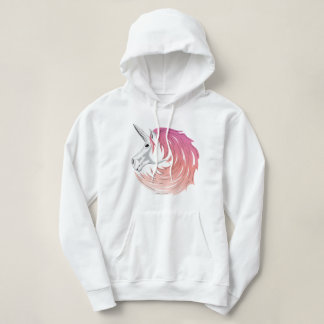 Pink Unicorn Hoodie