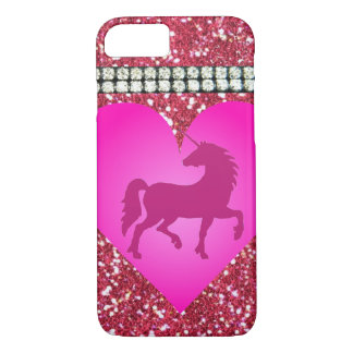 Pink Unicorn iPhone Case