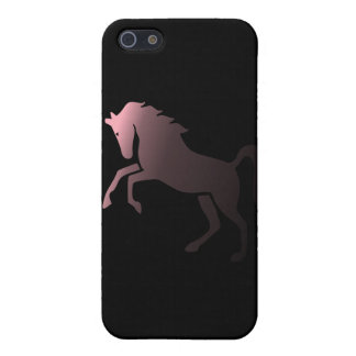 Pink Unicorn on Black Background Speck iPhone 4 Ca Cover For iPhone 5/5S