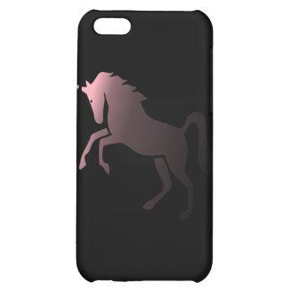 Pink Unicorn on Black Background Speck iPhone 4 Ca iPhone 5C Case