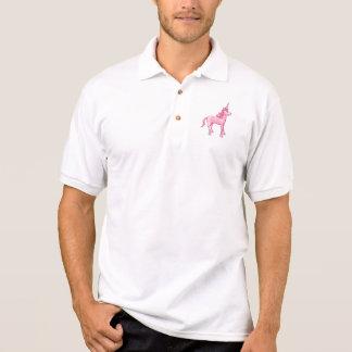 Pink Unicorn Polo Shirt