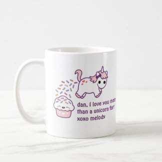 Pink Unicorn Poop Coffee Mug