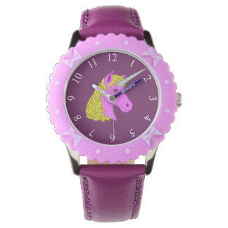 Pink Unicorn Watch