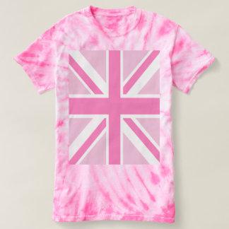 Pink Union Flag T-Shirt