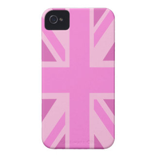 Pink Union Jack Blackberry Bold Cover