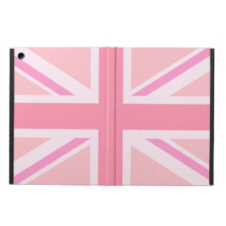 Pink Union Jack/Flag Case For iPad Air