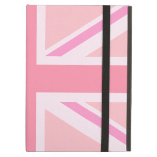 Pink Union Jack/Flag iPad Air Cases