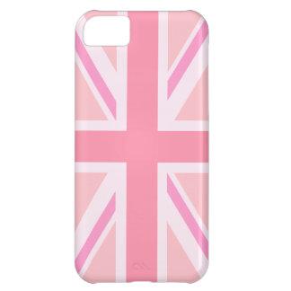 Pink Union Jack/Flag iPhone 5C Case