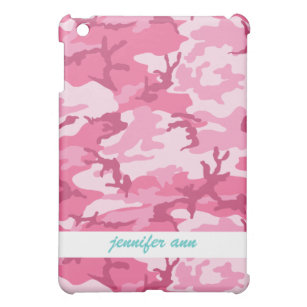 Pink Urban Camoflage Pattern Case For The iPad Mini
