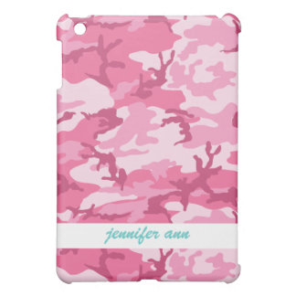 Pink Urban Camoflage Pattern iPad Mini Covers