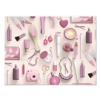 Pink Vanity Table Photo Print
