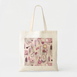 Pink Vanity Table Tote Bag