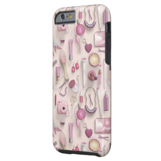 Pink Vanity Table Tough iPhone 6 Case
