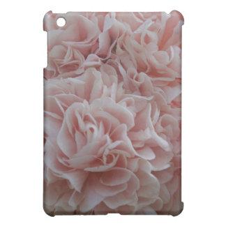 Pink velvet flowers Mallow Cover For The iPad Mini