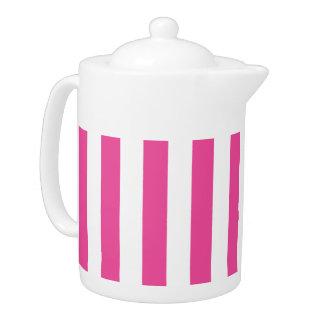 Pink Vertical Stripes