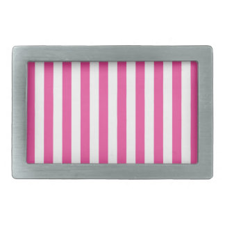 Pink Vertical Stripes Belt Buckle