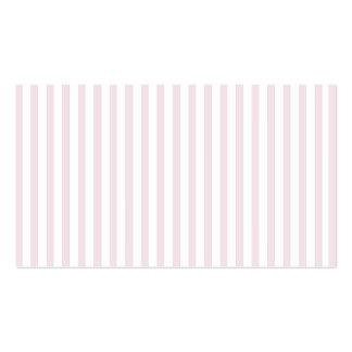 Pink Vertical Stripes Pack Of Standard Business Cards