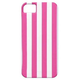 Pink Vertical Stripes iPhone 5 Case