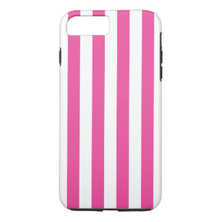 Pink Vertical Stripes iPhone 8 Plus/7 Plus Case
