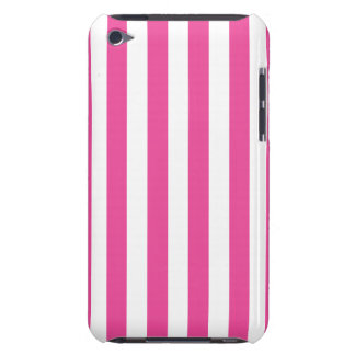 Pink Vertical Stripes iPod Case-Mate Cases
