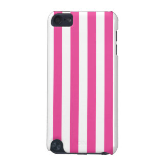 Pink Vertical Stripes iPod Touch (5th Generation) Cover