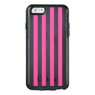 Pink Vertical Stripes OtterBox iPhone 6/6s Case