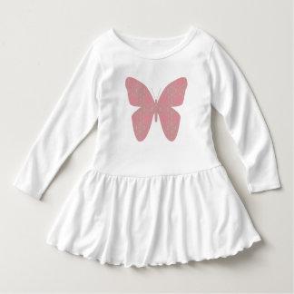 Pink Vintage Butterfly Dress