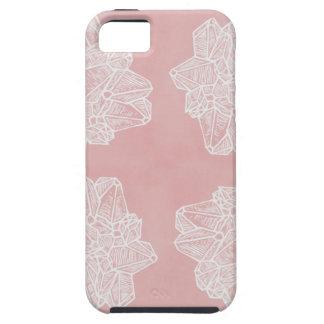 Pink Vintage Geode Pattern iPhone 5 Case