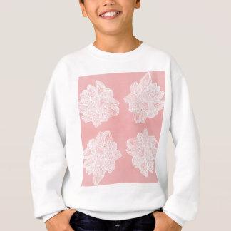 Pink Vintage Geode Pattern Sweatshirt