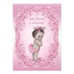 Pink Vintage Princess Baby Shower Personalised Invite