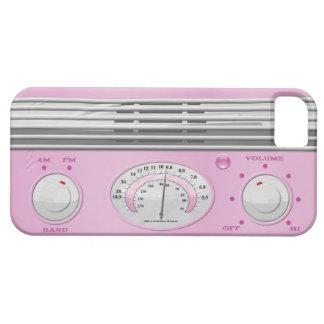 Pink Vintage Radio iPhone 5 Cover