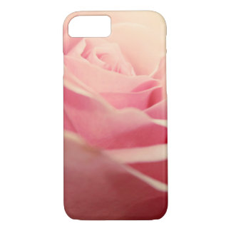 Pink Vintage roses covering iPhone 8/7 Case