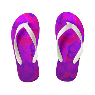 Pink-violet ~ pink one PUR-polarizes Kid's Thongs
