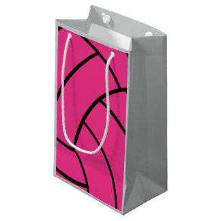 Pink Volleyball Gift Bag