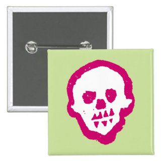 Pink Voodoo Square Button
