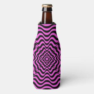 Pink Vortex Bottle Cooler