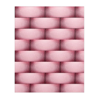 Pink Wall Of Resistance Acrylic Wall Art