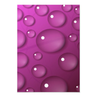 Pink Water Drop Background Announcement