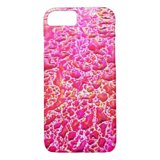Pink water droplets iPhone 7 case