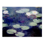 Pink Water-Lilies: 1897-99 by Monet Postcards